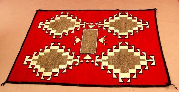 55: Vintage Navajo Rug Ganado Area