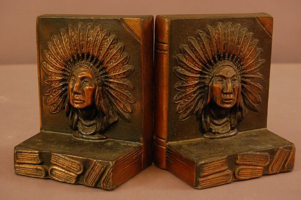 2: Indian Chief Bookends
