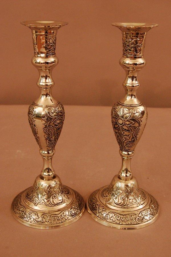 5: Georgian Candle Holders