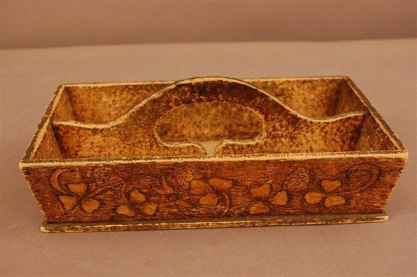 8: Folk Art Knife Box