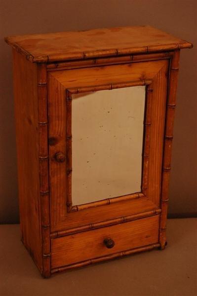 11: Salesmans Sample Pine Armoire