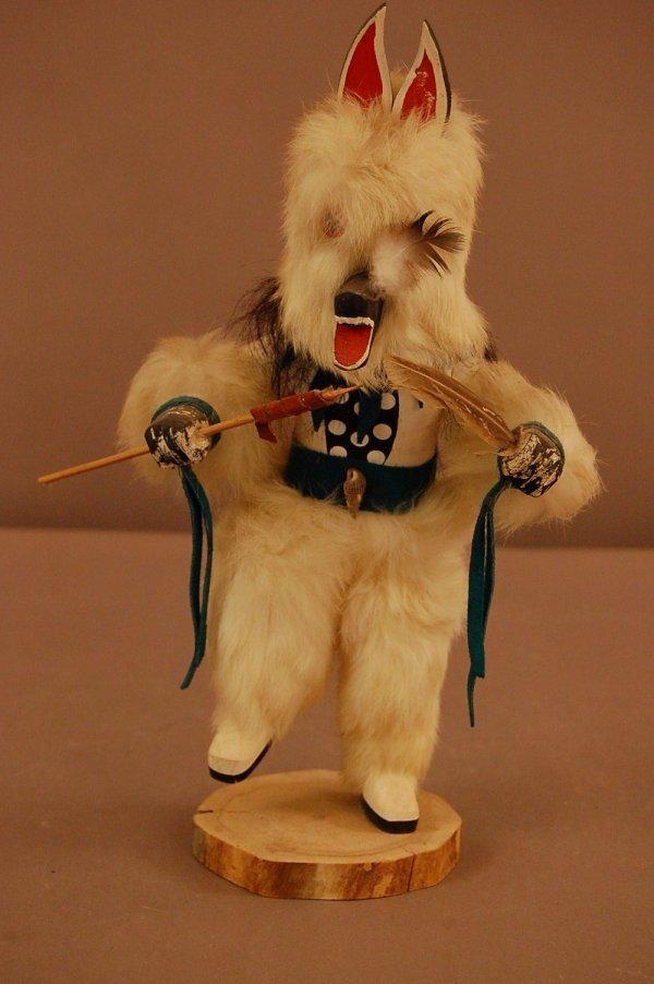 14: Wolfman Kachina Doll by C.W.Tom
