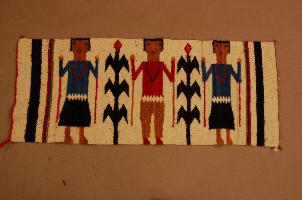 22: Navajo Ye'ii Blanket