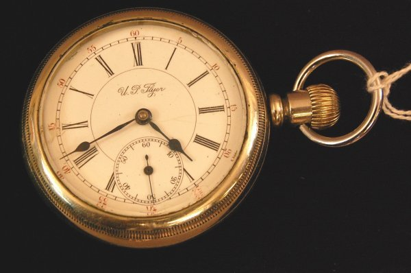 204: Union Pacific Flyer Size 16 Pocket Watch