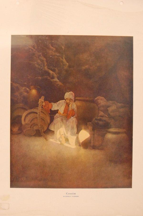 "2: Cassine""   Original Print by Maxfield Parrish 9"" x 1"