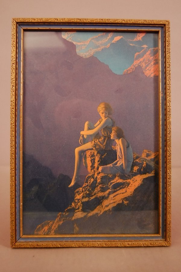 "3: Maxfield Parris Print, Original Frame 7"" x 10"""