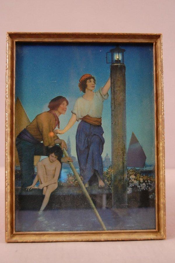 "4: ""Venetian Lamplighter""  Maxfield Parrish Print Origi"