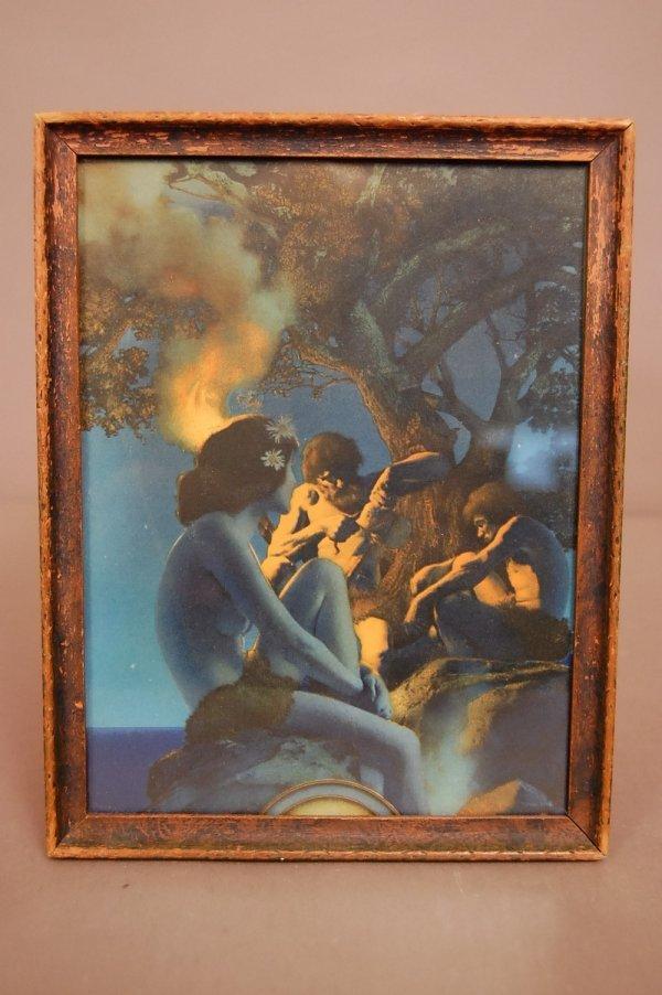 "8: ""Primitive Man"" Maxfield Parrish Print Edison Mazada"