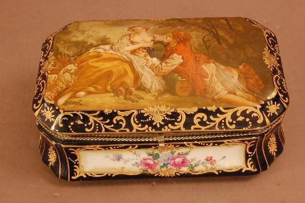 2: Sevres Style Dresser Box