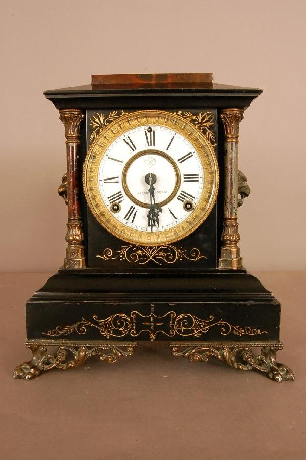 8: Ansonia Mantel Clock