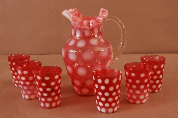 23: Cranberry 7 Piece set