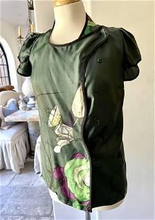 Prada Milano Fairy Collection Rare Silk Blouse