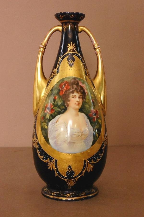1: Royal Vienna Portrait Vase