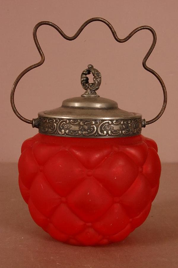 5: Red Biscuit Jar