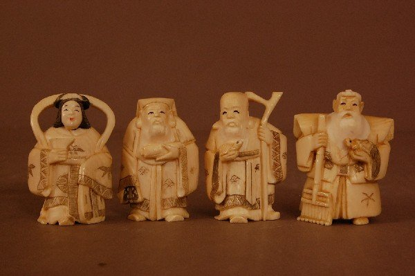 7: Carved Ivory Figures