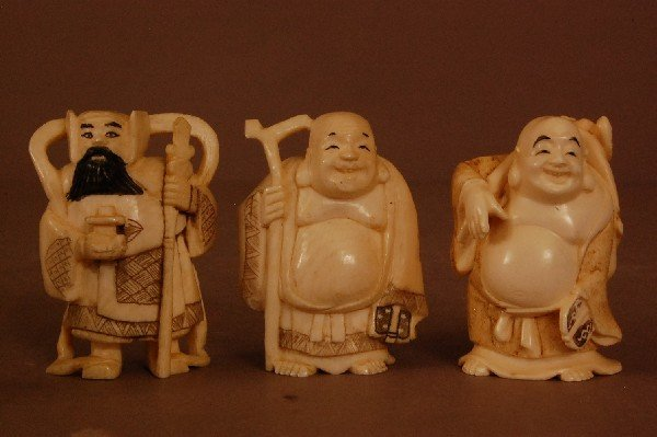 8: Carved Ivory Figures