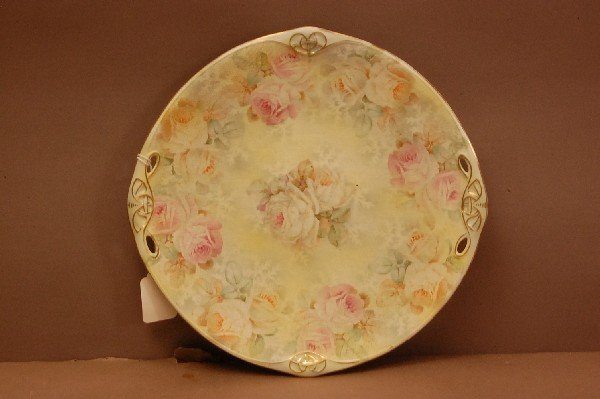 15: Royal Bayruth Tapestry Plate Yellow Rose Pattern 10