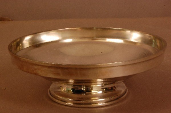 "23: Sterling Silver Bowl  2 1/2"" t   apprx. Weight 11 o"