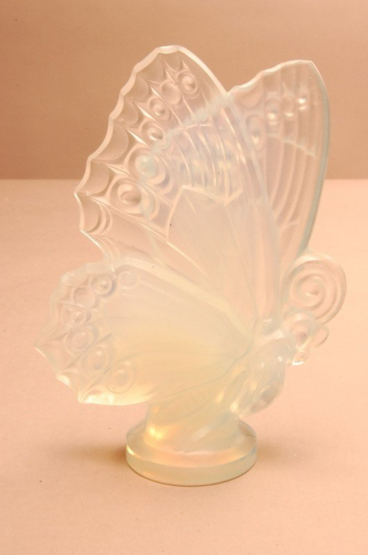 "16: Sabino Art Glass butterfly Signed Sabino Paris  6"""