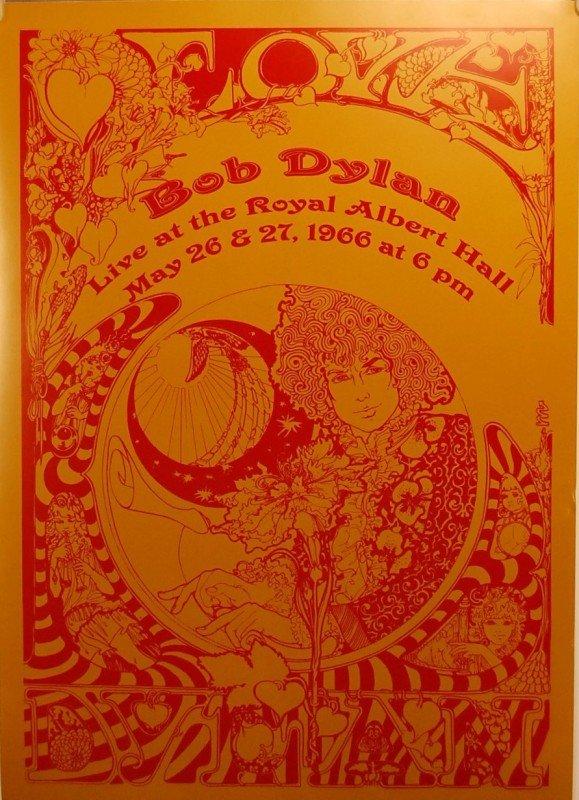 """286: Bob Dylan Poster 20"""" t x 14"""" w"""