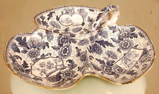 """11: Royal Bonn """"Tokio"""" Pattern  serving dish with handl"""
