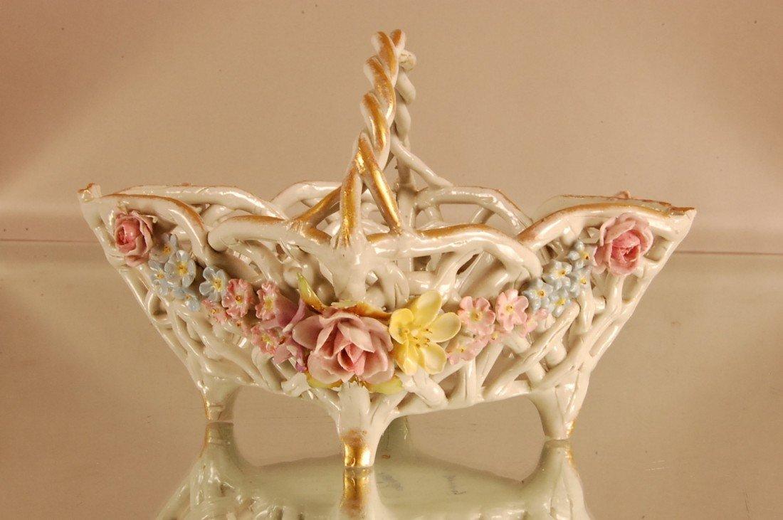 21: Dresden style Brides Basket