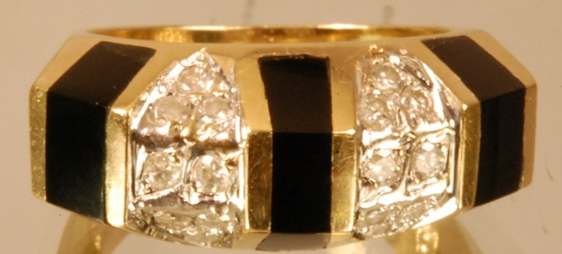 11: Ladies Art Deco Style 14 K. Yellow Gold