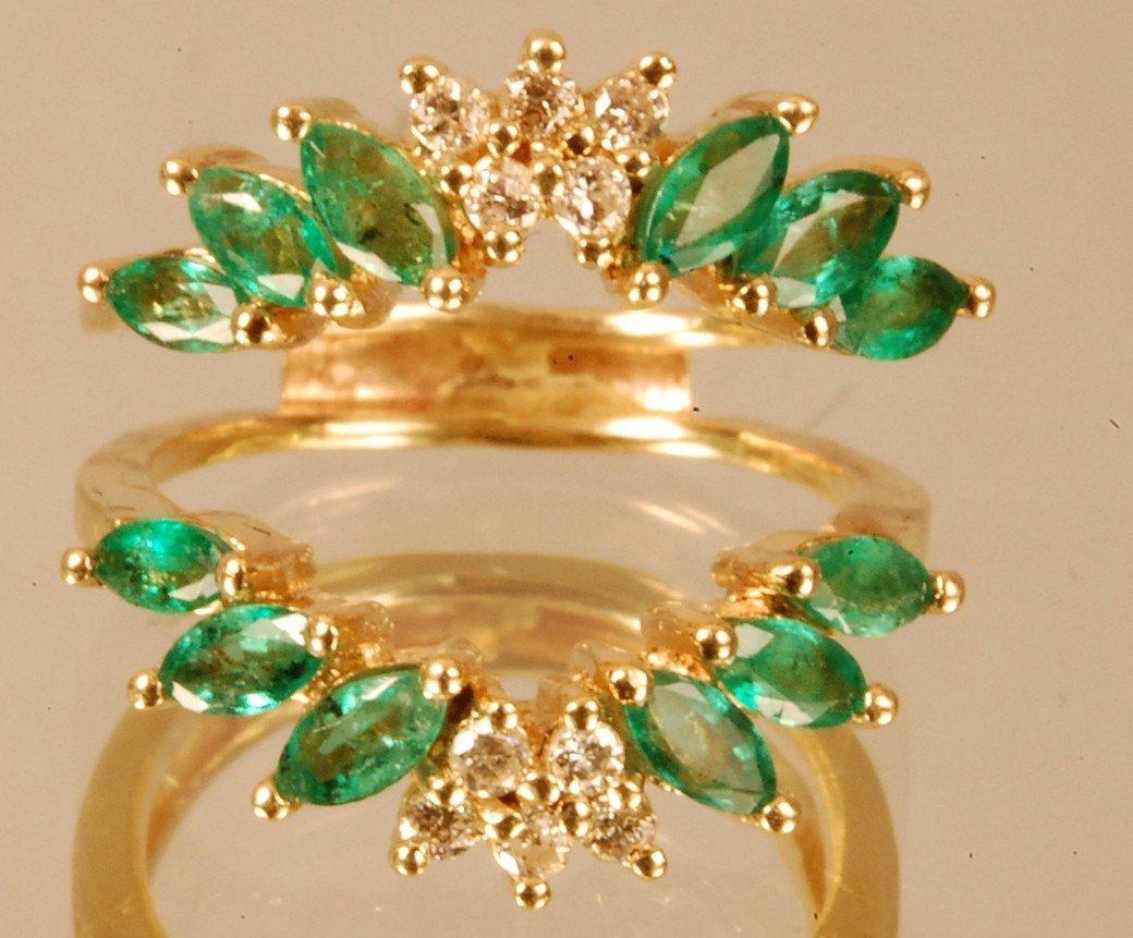 18: Ladies 14 K. Yellow Gold Dinner Ring
