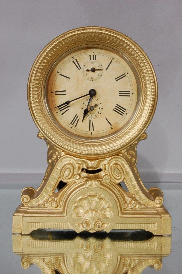 7: Seth Thomas Victorian style Alarm Clock