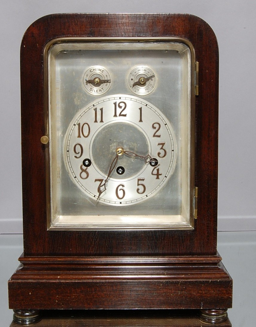 12: Junghans Bracket Clock