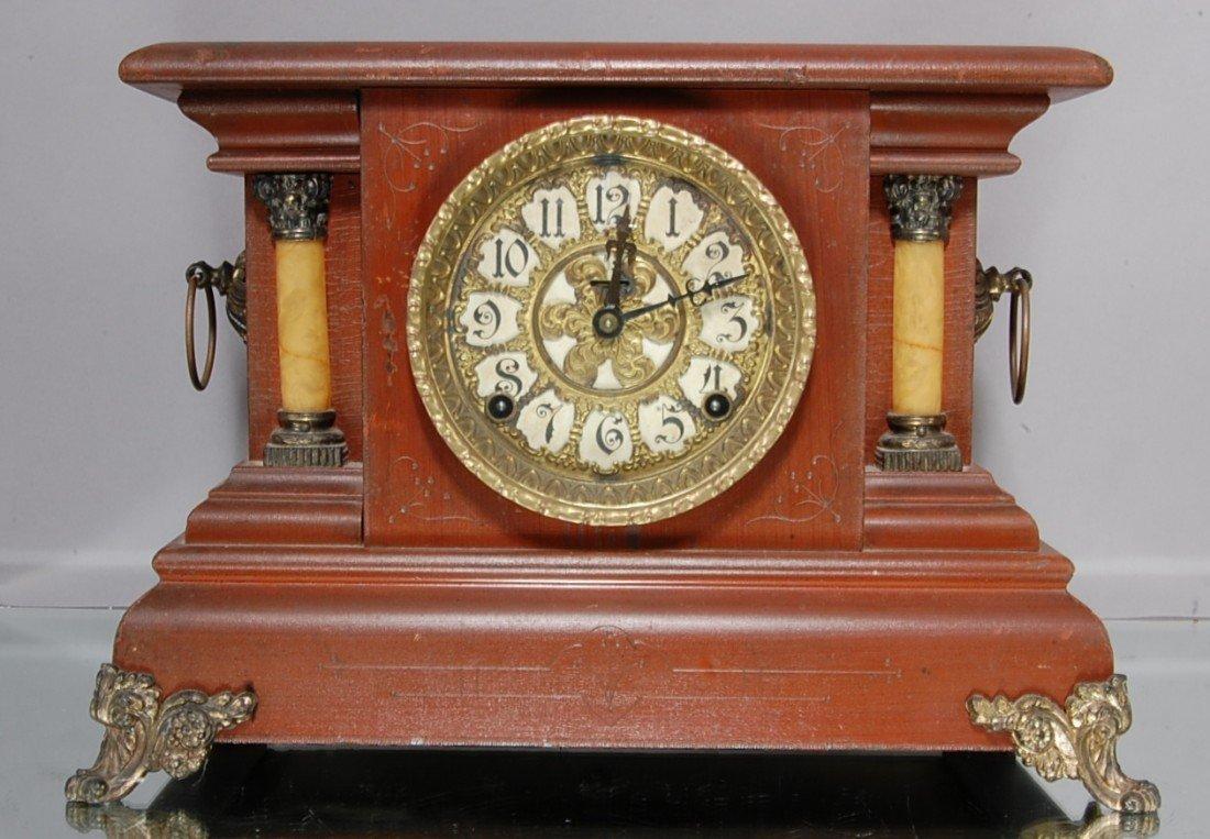 16: E. Ingraham Mantel clock.