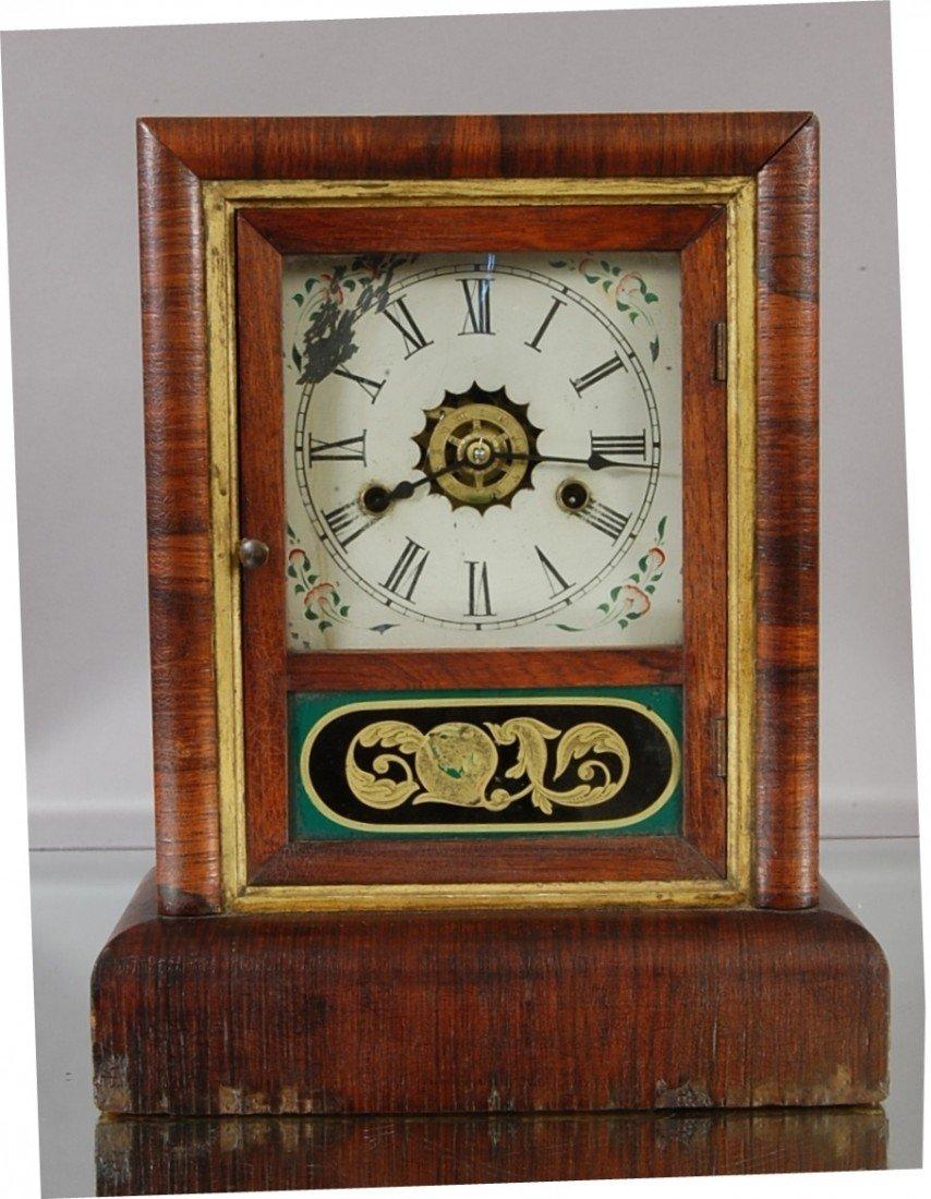 23: Early Gilbert Shelf clock