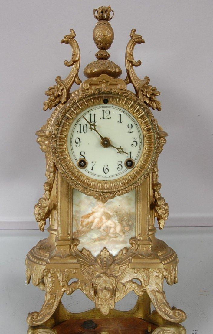 35: Sartorius Ansonia Shelf clock.