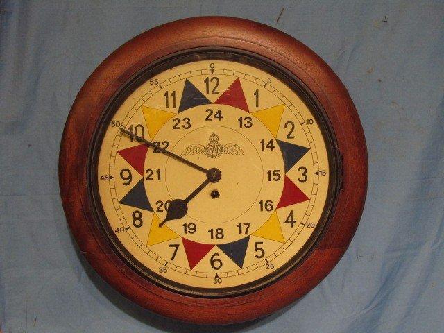 72: Elliot WWII RAF Sector clock