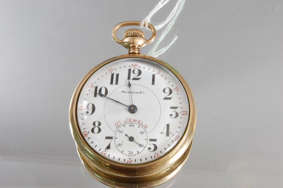 2: Merrimar 21 Jewel Pocket Watch