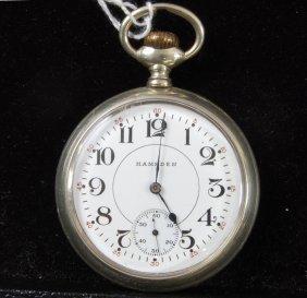 4: Hampden 15 Jewel Pocket Watch