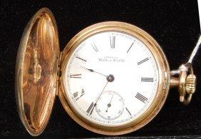 5: American Waltham Watch Co. Hunters case Pcket Watch.