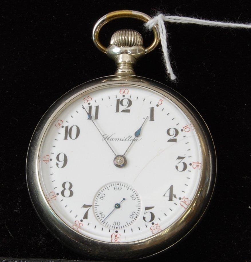 6: Hamilton 17 Jewel Pocket Watch