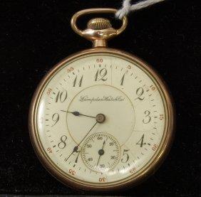 Hampden 17 Jewel Adjusted Pocket Watch