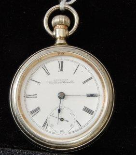 8: American Waltham 18 S Pocket Watch