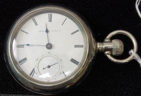 9: American Waltham Pocket Watch