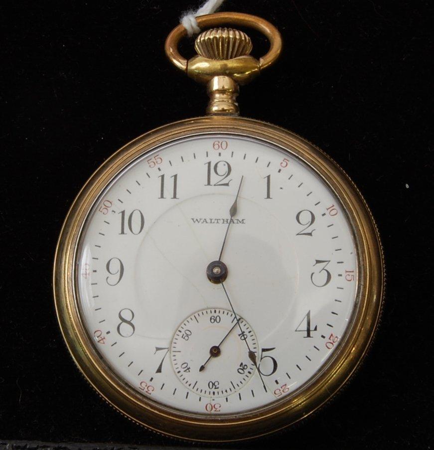 11: Waltham 17 Jewel Pocket Watch