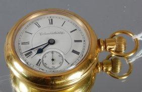 13: Columbus 15 Jewel Pocket Watch