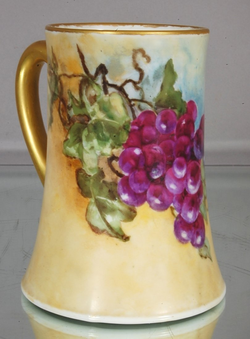 4: French Limoges Tankard