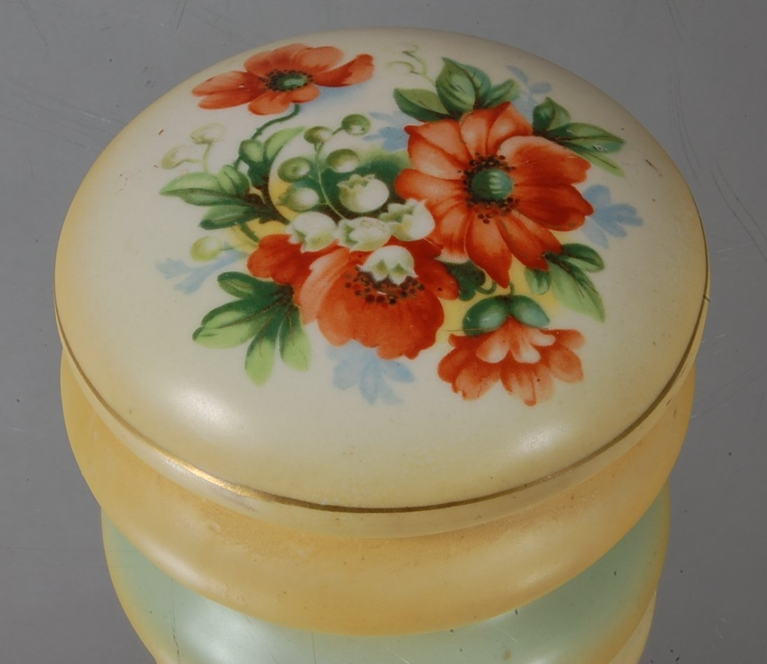 6: Austrian Hand painted dresser box