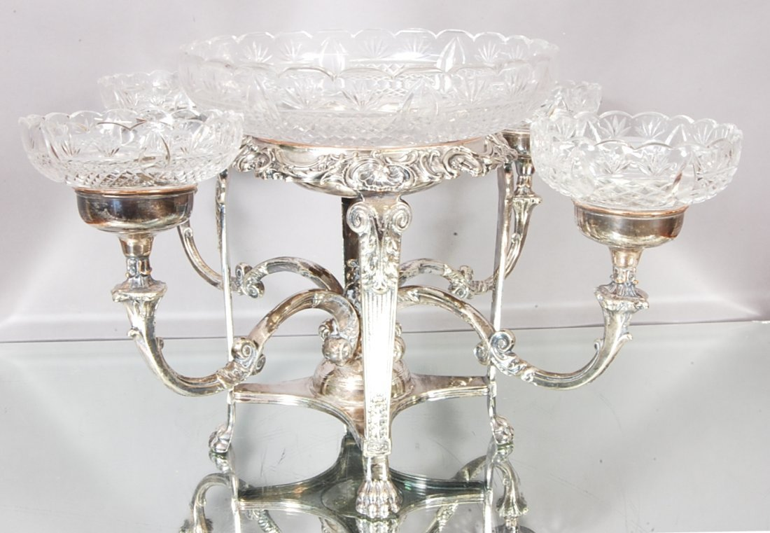 10: French Louis XIV style Epergne