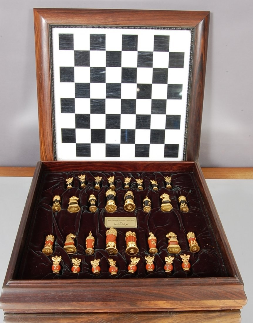 13: The Faberge Imperial Chess Set