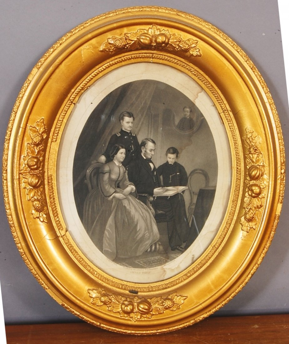23: Lincoln Family  Lithograph