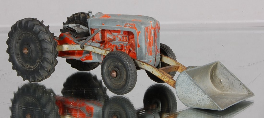 21: Tootsie Toy Dye Cast Ford Tractor with scoop