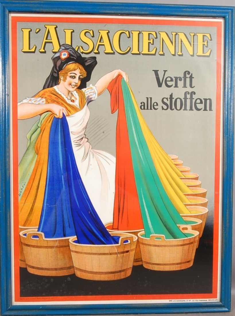 123: French Advertising Poster